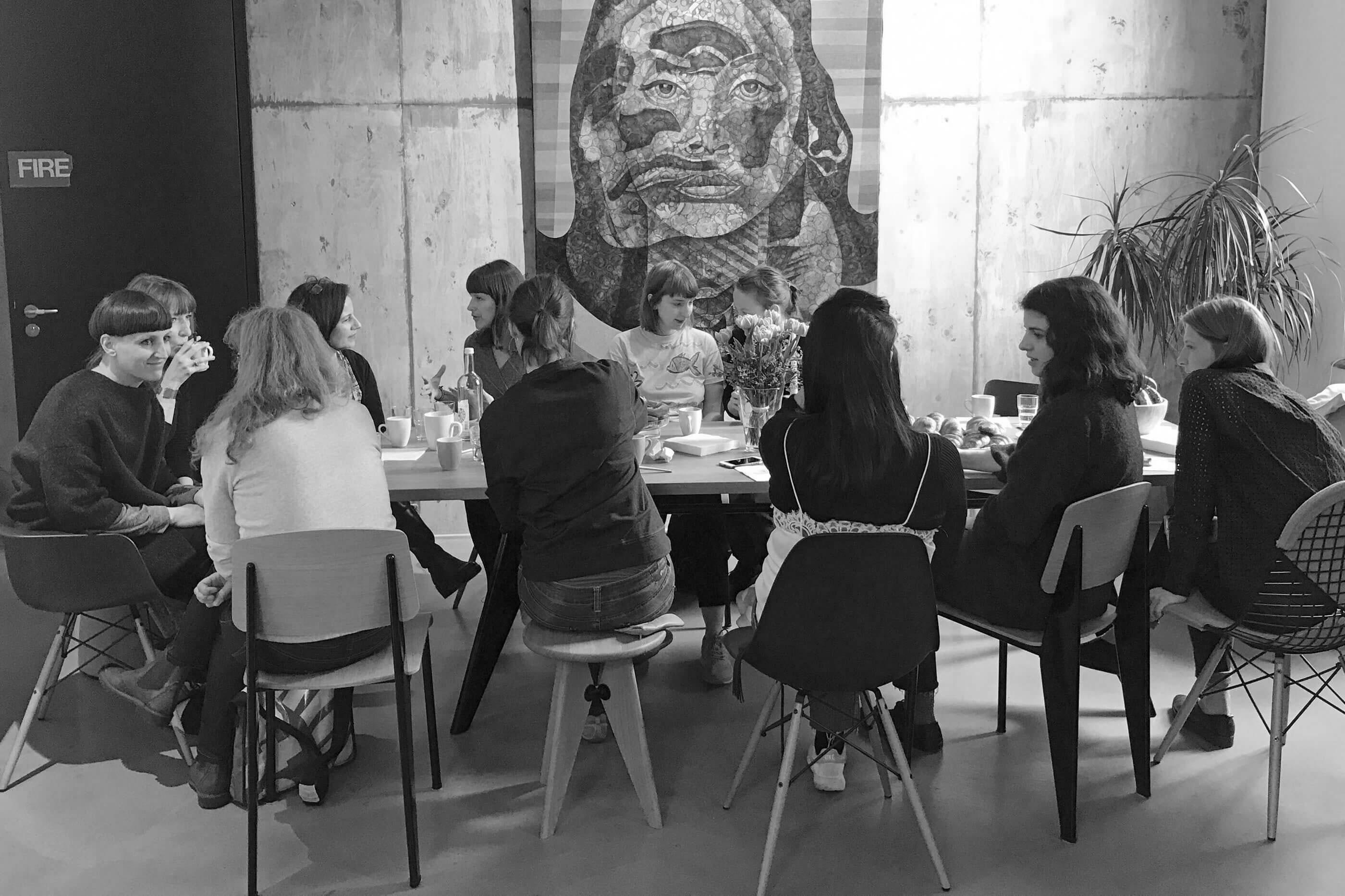 YVONNE RUNDIO And She Was Like BÄM – Art Cologne Frühstück 2017