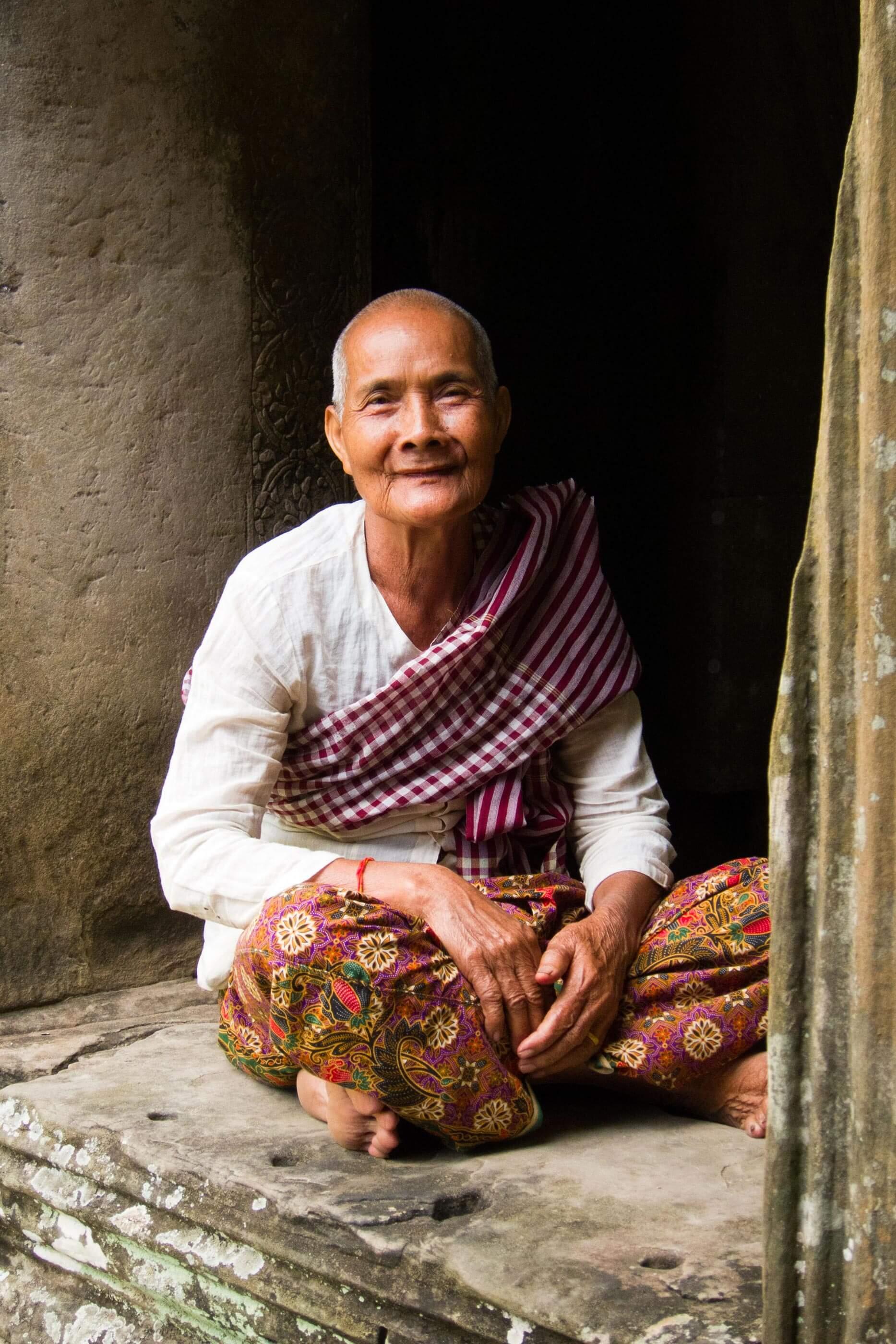 YVONNE RUNDIO SOMEWHERE ELSE Fotografie Kambodscha Portrait