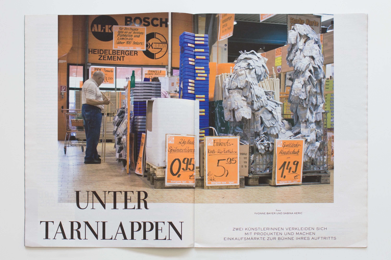 YVONNE RUNDIO Urban Camouflage Zeit Magazin