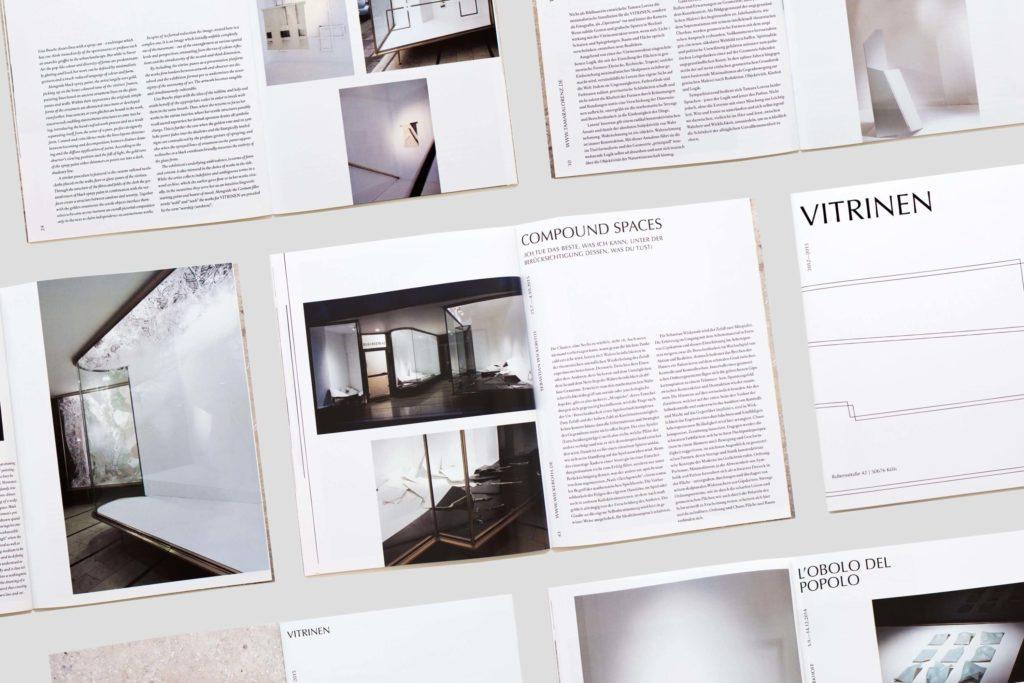 YVONNE RUNDIO Vitrinen Katalog