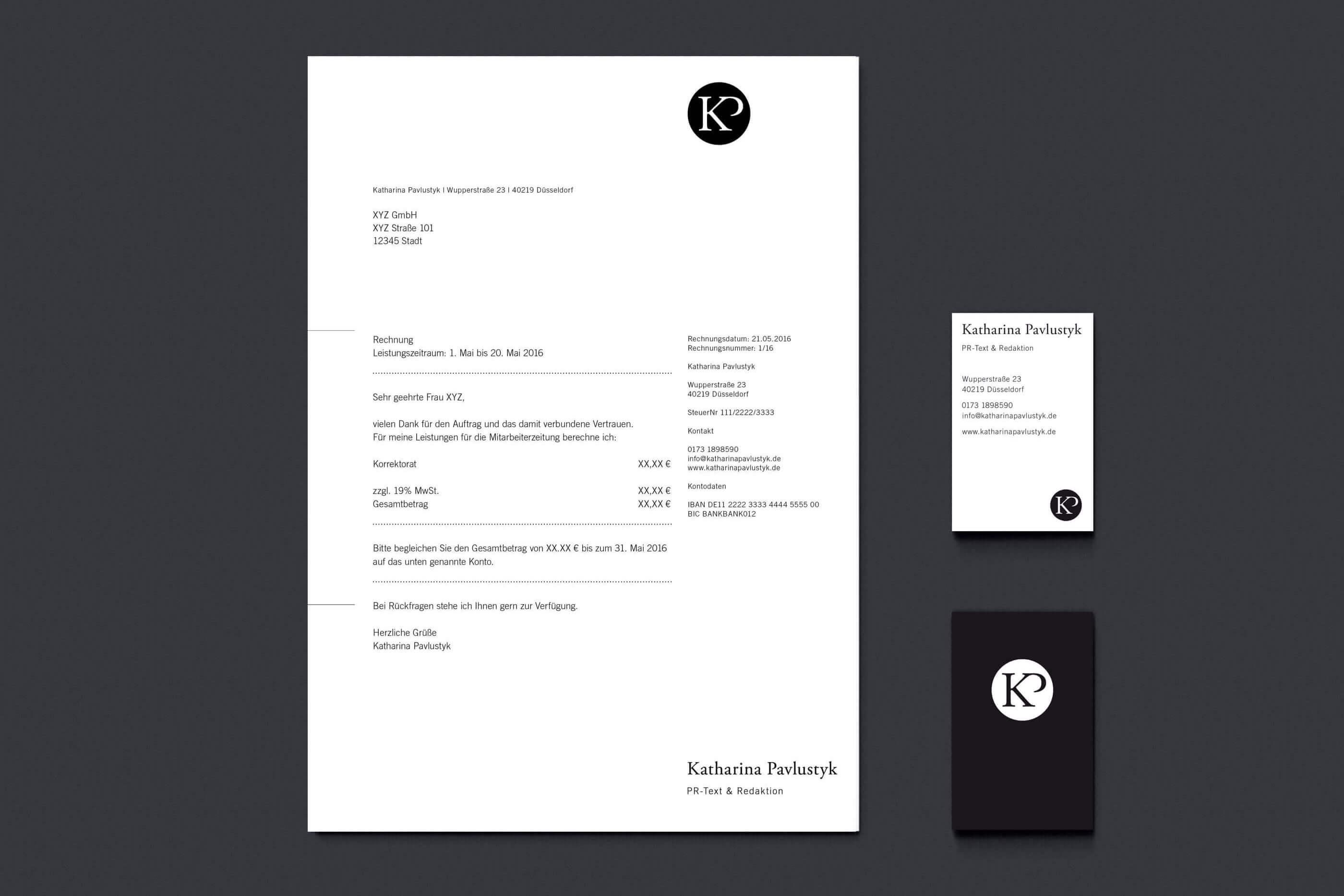 YVONNE RUNDIO Katharina Pavlustyk Corporate Design
